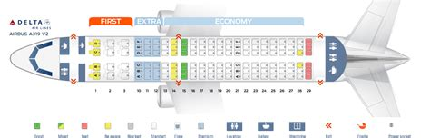 a319 seat map seat map airbus a319 100 delta airlines best seats in plane