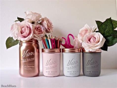diy tumblr room decor 2016 spring copper floral princess 25 cute diy mason jar storage ideas space saving mason