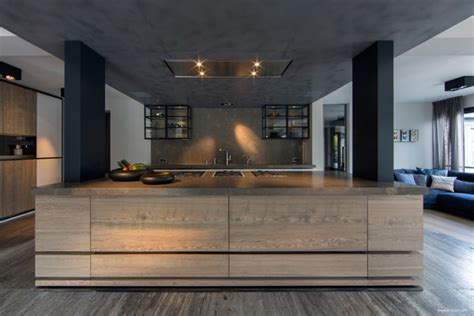 awesome kitchens ultramodern sleek house with sharp lines