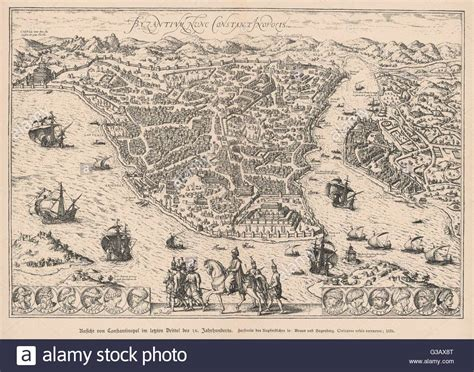 constantinople map stock photos constantinople map stock