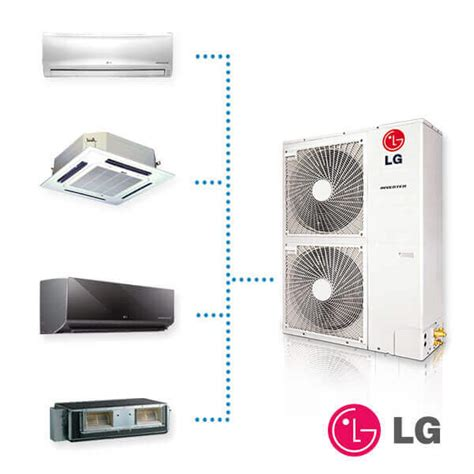 Inverter Multi multi split inverter lg ingenieros friotemp