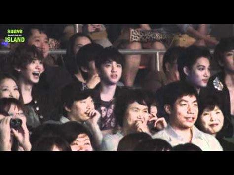 apinks fanboys boyfriend b2st exo infinite bts led fancam 130115 ending sj with infinite shinee exo