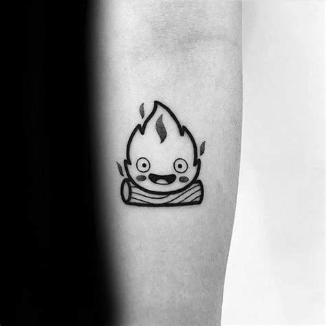 calcifer tattoo 30 calcifer designs for howl s moving castle