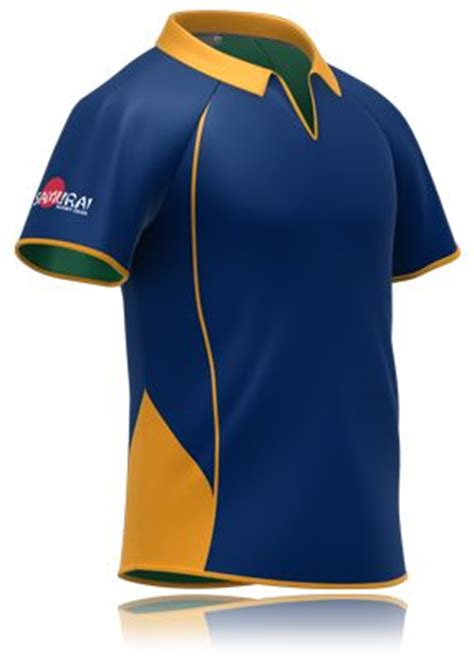D F T Shirt Dsgn Blue rugby shirt designs and yellow on