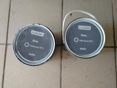 Peinture Gris Galet N 6 by Peinture Bois Ext 233 Rieur Conditions Extr 234 Mes Luxens Gris