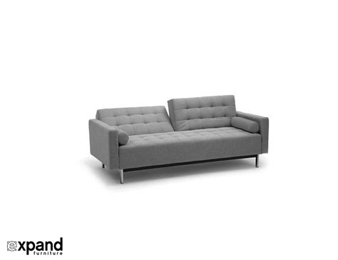 the tilt sofa bed with tufted upholstery expand