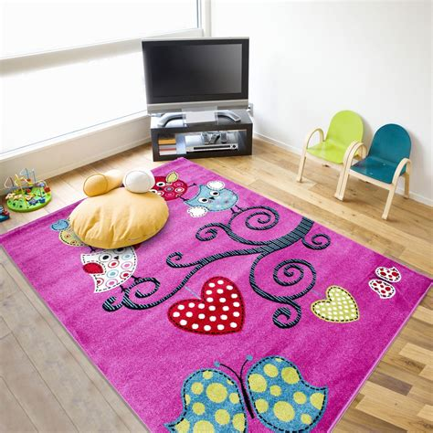 childrens bedroom rugs kids childrens soft quality bedroom blue pink car rugs