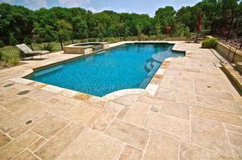 stone pool deck 20 fresh and natural pool deck stone inspirations