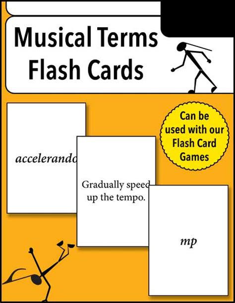 how to make terminology flash cards musical terms flash cards warm hearts publishing