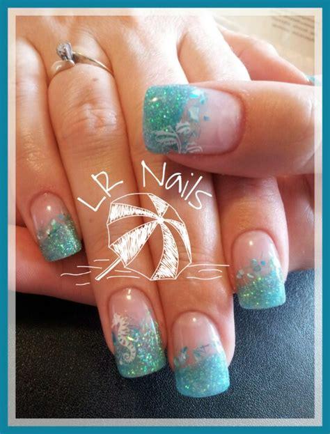 Nail Designs For Vacation tropical vacation nails nails i ve done