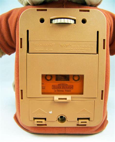 teddy ruxpin cassette teddy ruxpin peluche parlante anim 233 e magn 233 tophone