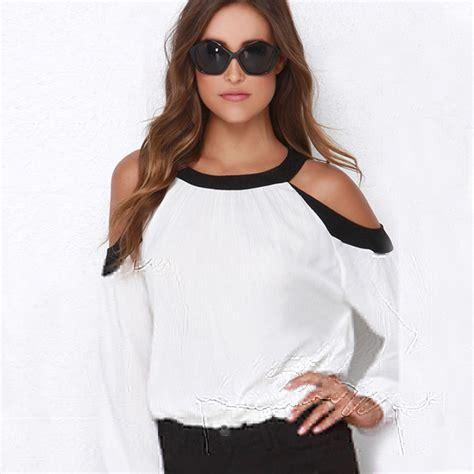 Outshoulder Shirt aliexpress buy tops for shoulder tops