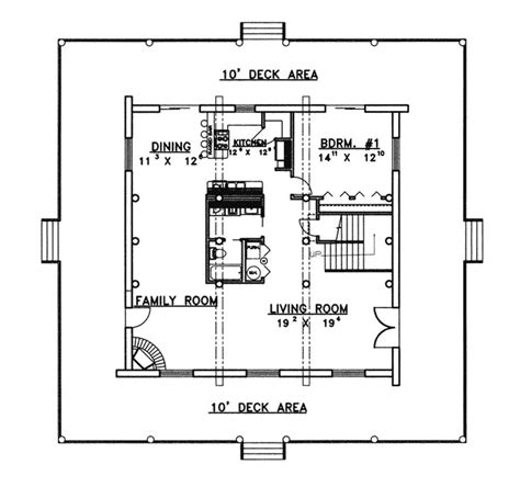 elk run rustic home plan 088d 0058 house plans and more