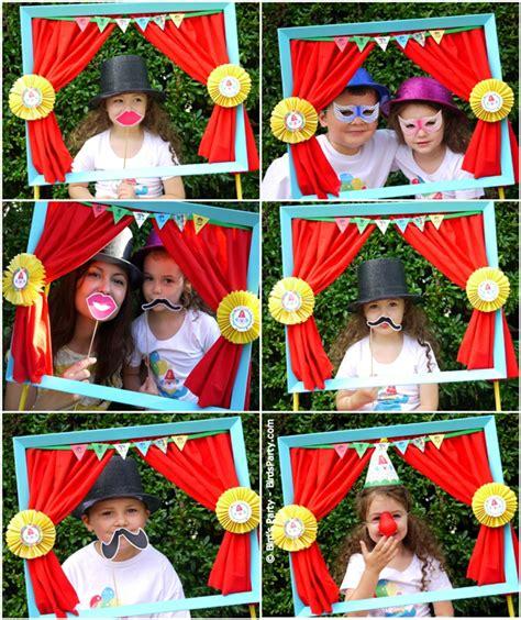 Hawaiian Shower Curtains Big Top Circus Birthday Party