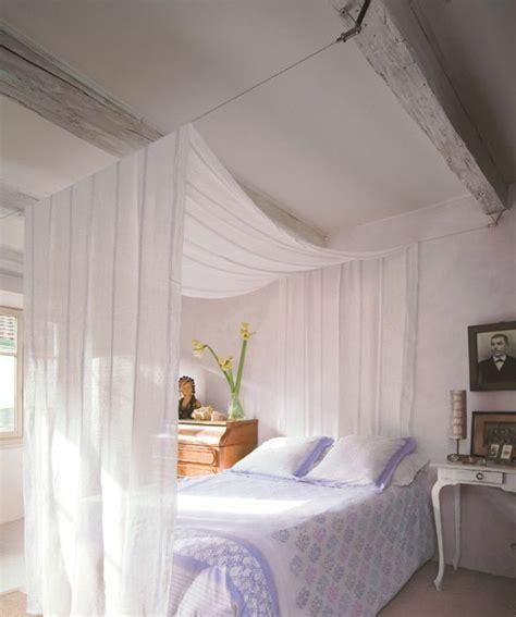 Rideau Ciel De Lit by Un Ciel De Lit En Voilage Deco Maison Ciel