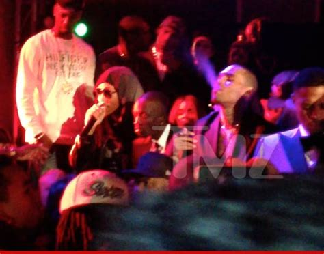 chris brown rihanna get blunt at grammys afterparty