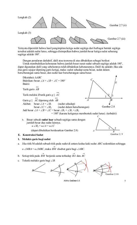 buku paket matematika 8 buku paket matematika geometri pengukuran smp