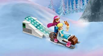 Lego Frozen Elsa Ice Palace Frozen Games