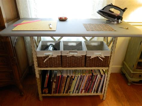 sewing table with ironing board diy ironing cutting board