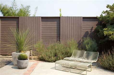 moderne zäune metall provoking practical privacy fences