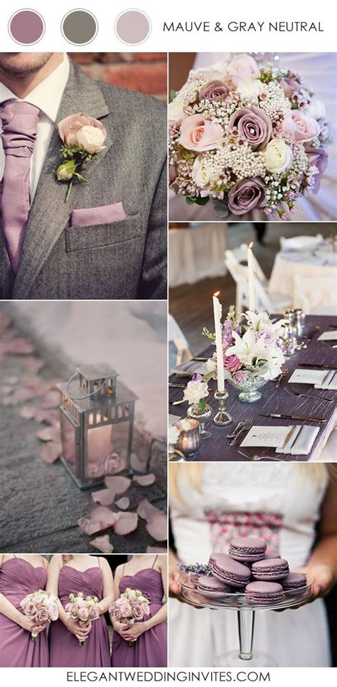 Fall 2008 Trend Gray And Purple by Top 10 Wedding Color Combination Ideas For 2017 Trends