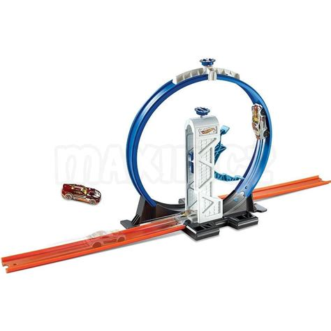 Mainan Anak Wheels Track Builder Loop Launcer Dmh51 wheels track builder doplňky a dr 225 hy dmh51 loop launcher max 237 kovy hračky