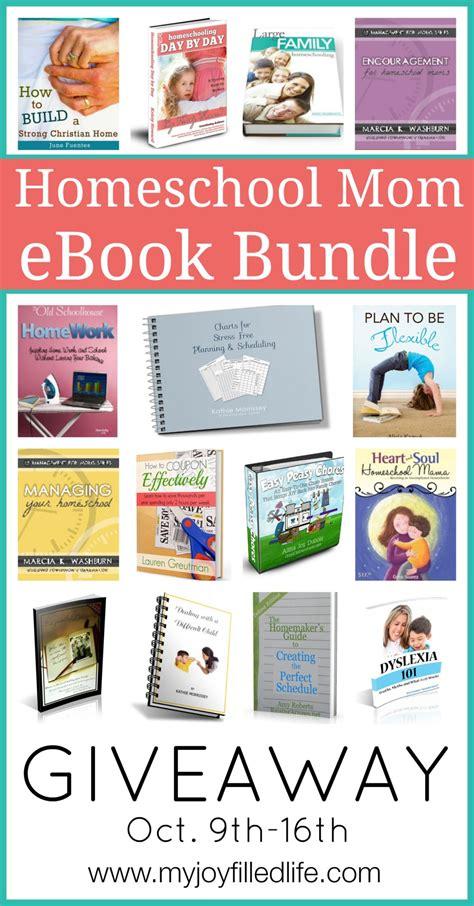 Mom Giveaway - homeschool mom ebook bundle giveaway ended my joy filled life