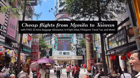 how i got to book a manila to taipei flight for 4 696