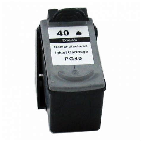 Terlaris Cartrigde Canon 40 Black canon refurbsihed pg 40 pg40 black ink cartridge