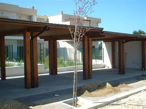 tettoia in legno per auto realizzazioni legnotecnica net