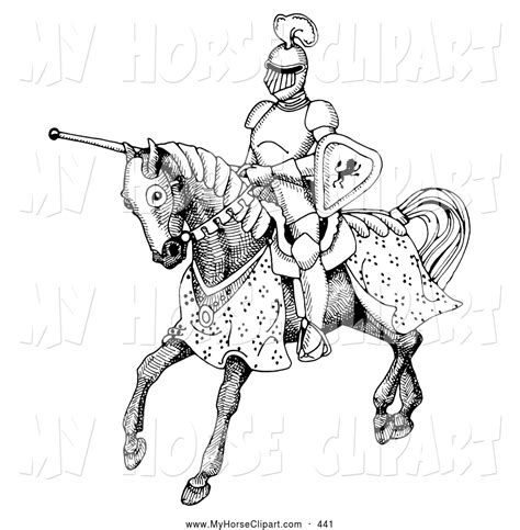 coloring pages knights jousting jousting knight clipart