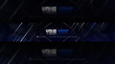 Free Youtube Banner Template Design Photoshop Download 3 Youtube Banner Template No Text