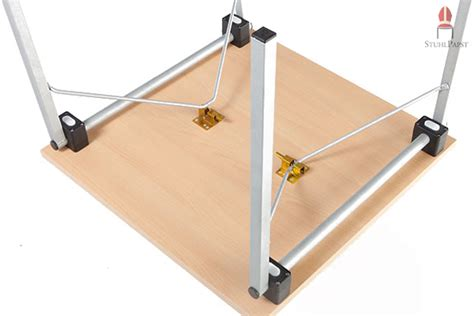 pavillon windfest machen praktische klapptische obj ekt quadrat