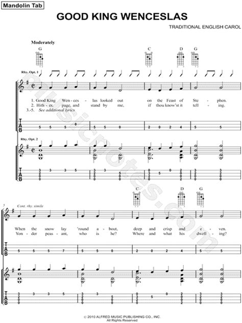 good king wenceslas free easy piano sheet music for traditional quot good king wenceslas quot sheet music in g major