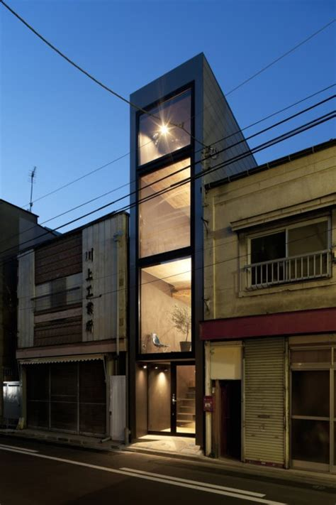 narrow house tiny in tokyo ultra narrow house slotted into an alley urbanist