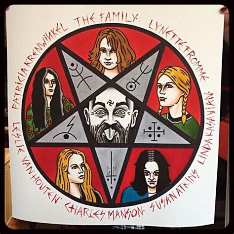 charles manson tattoo flash by gonzalo mm en lastportleon quot the family