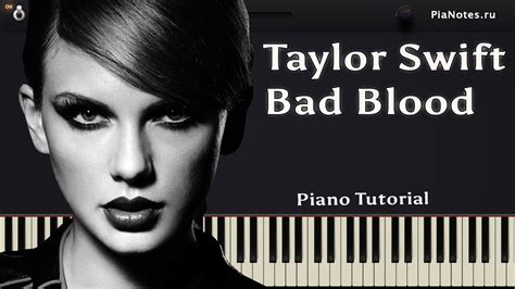 tutorial piano taylor swift taylor swift bad blood ft kendrick lamar how to play