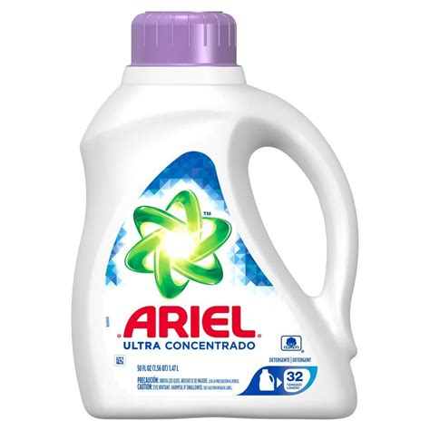 Detergen Liquid Laundry ariel ultra 50 oz original scent liquid laundry detergent
