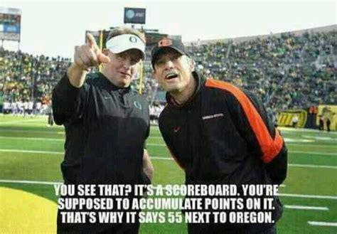 Oregon Ducks Meme - oregon ducks vs oregon state beavers football