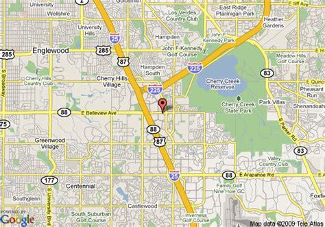 map of englewood colorado hyatt place denver tech center englewood deals see