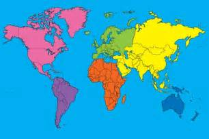 Map Of The World Continents by Pics Photos World Maps Continents Drift World Maps