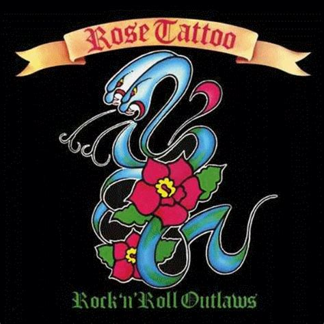 rose tattoo rock band 433 rock roll outlaw