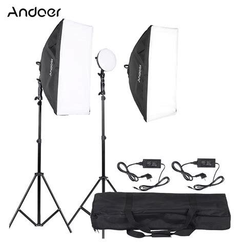 illuminazione studio andoer led fotografia studio illuminazione kit luce con 2