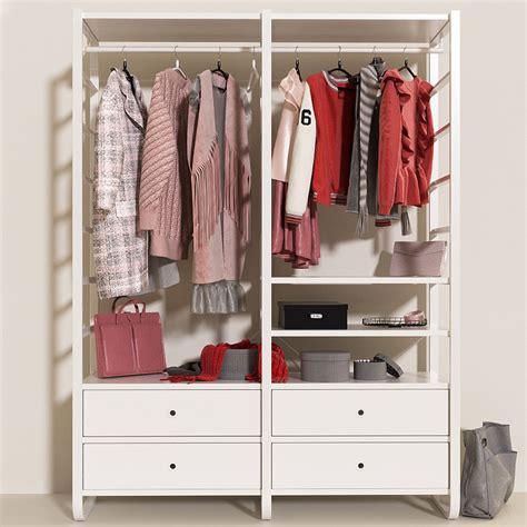 ikea elvarli review 3d wardrobe elvarli ikea clothes turbosquid 1155184