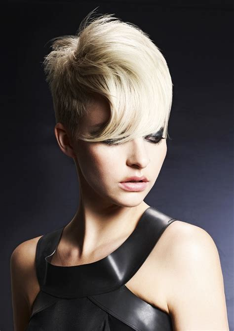 salon short hair pictures printable a short blonde hairstyle from the 2013 collection by