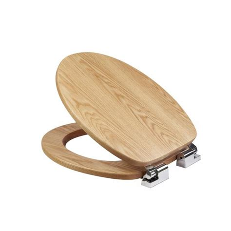 oak toilet seat fitzroy solid oak toilet seat with soft croydex