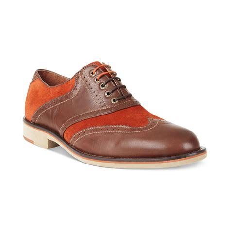 johnston murphy shoes johnston murphy ellington wingtip laceup shoes in brown