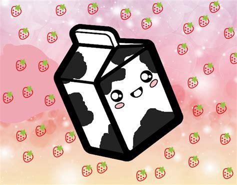 imagenes kawaii leche dibujo de la leche kawaii pintado por diana345 en dibujos