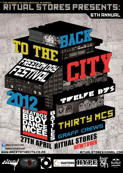 And The City Back On by Event Back To The City Graffiti South Africa