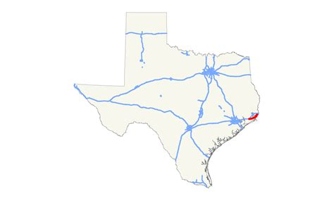 map of winnie texas texas state highway 73